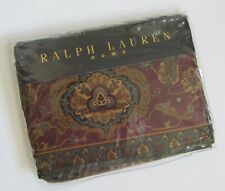 NEW Ralph Lauren Equestrian Paisley FULL Flat Sheet