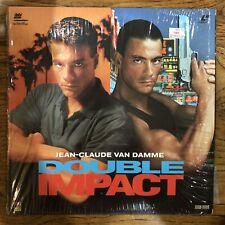 Double Impact Laserdisc Action Jean-Claude Van Damme Geoffrey Lewis RCA Columbia
