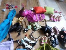Bratz Genie Lamp Skirt Pillows CLothes Purse Shoes Full Size LOT
