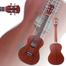 "New Glarry 26"" Sapele 18 Frets Aoustic Tenor Ukulele 4 Strings Hawaiian Guitar"