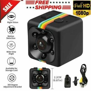 Mini Hidden Spy Camera Wireless Home Security HD 1080P DVR Night Vision