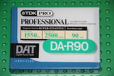 DAT  TDK  DA-R   90   DIGITAL AUDIO TAPE (1) (SEALED)