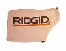 "Ridgid 089036008914 R4112 R4120 R4122 12"" 10"" miter saw replacement dust bag"