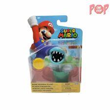 Super Mario - Bone Piranha Plant Action Figure with Coin
