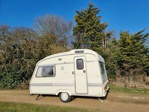 """FLORENCE WREN"" The 1988 12ft Vintage Retro Caravan 2 Berth Full Awning Delivery"