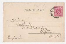 Mrs Davey, Falklands, 37 Whiteladies Road, Clifton Postcard, B153