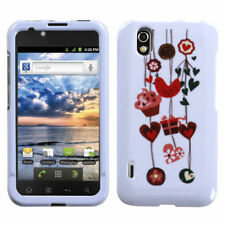 For Alltel LG Ignite HARD Protector Case Snap on Phone Cover Love Present