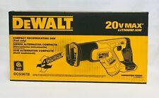 DEWALT 20V MAX Cordless Li-Ion Reciprocating Saw DCS387B New - Tool Only