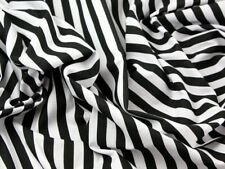 Stripe Print Polycotton Dress Fabric (Design-MedStripe-M)