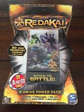 REDAKAI X-DRIVE POWER PACK 11 BLAST 3D CARDS STACKED TO BATTLE NEW SEALED