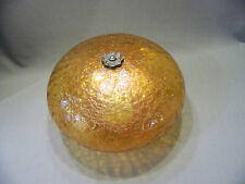 Crackle glass swag lamp shade Mushroom shape light globe replacement