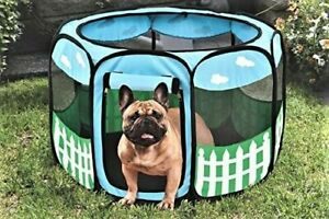 Etna Pet Puppy Dog Playpen Exercise Pen Kennel Tent Play Pen Foldable In/Outdoor