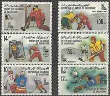 Timbres Sports d'hiver JO Maurtianie 431/6 * lot 8801