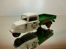 SCHUCO SPEED TRICYCLE CASTROL TRUCK - WHITE+GREEN 1:43 - EXCELLENT - 3