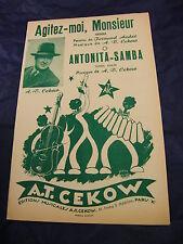 Partitura Shake me, Sir Antonita-Samba de A.T.Cekow 1956