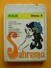 Sanremo 70 Stereo 8 RCA Italy Nada Patty Pravo Mal Rita Pavone Tony Renis Rascel