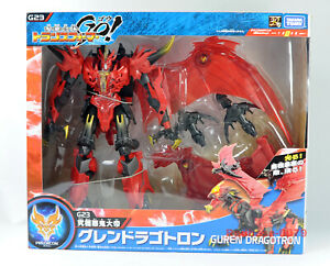 Transformers Go! G23 Guren Dragotron Ultimate Predaking Voyager Class Takara