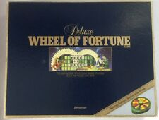 Wheel Of Fortune Deluxe Game Pressman 1986 2nd Edition Incomplete Set Vintage