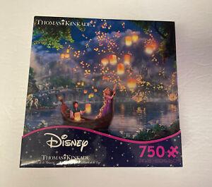 Disney Thomas Kinkade Painter Of Light Tangled 750 Piece Jigsaw Puzzle