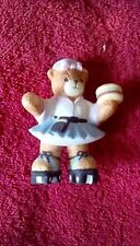 Enesco Lucy & Me 50s Carhop Teddy Bear on Roller Skates Figurine by Lucy Rigg