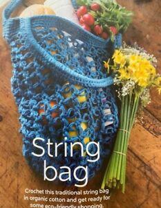 Crochet Pattern for a String Bag - CR16