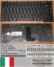 TASTIERA QWERTY ITALIANA TOSHIBA NSK-TAE0E 9J.N9082.E0E G83C000862IT Nero