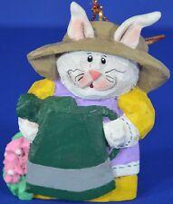 Eddie Walker Garden Bunny Rabbit Retired Midwest Cannon Falls Christmas Ornament