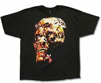 ROB ZOMBIE 100% HORROR BLACK T-SHIRT NEW OFFICIAL MERCH WHITE