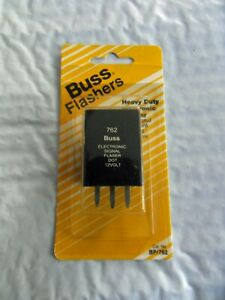 New Bussmann BP762 Hazard Warning and Turn Signal Flasher Free US Shipping