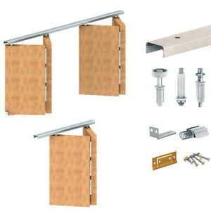 Folding Door Track Kit For Bi Folding Doors 603mm-1822mm