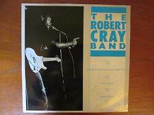"Robert Cray Band Change of Heart, Change of Mind 12"" UK Single w/ Live B-Sides"