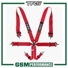 TRS MAGNUM 6 POINT FIA HARNESS BELT - RED