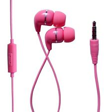 IN EAR EARPHONES HEADPHONES WITH MIC MICROPHONE FOR IPHONE IPOD SAMSUNG HTC MP3