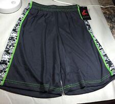 Cramer Youth Shorts Digital Camo. Sports Performace Shorts. Youth Medium Grey