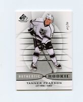 13/14 SP GAME-USED SPGU ROOKIE RC #123 TANNER PEARSON 01/70 KINGS