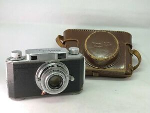【As-is】KONICA Konirapid-s Rangefinder 50mm f2.8 from JAPAN