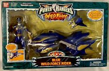 Power Rangers Wild Force ~ Blue Ranger Rider Cycle Motorcycle ~ NEW Sealed 2002