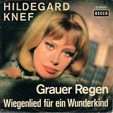 "7"" Hildegard Knef – Grauer Regen // Germany 1965"