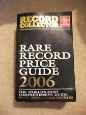Record Collector Rare Record Price Guide 2006 Book