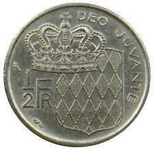(E90) - Monaco - 1/2 Franc - 1965 - Rainier III - XF - N - KM# 145