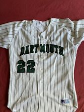 Dartmouth College Ivy League Baseball Russell Jersey #22 Size 44 Game Issued
