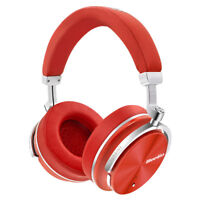 Bluedio T4S Bluetooth Headphone Noise Cancelling Stereo Wireless Headset Red