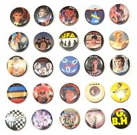 "CHOOSE: Vintage Rock & New Wave 1.25"" Pinback Pin Button * Combine Shipping!"