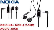 GENUINE NOKIA HANDSFREE HEADPHONE HS-47 BLACK 2680 1200 1208 7610 6500S 6300