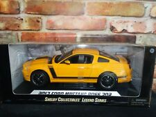 Shelby Collectibles 2013 Ford Mustang Boss 302 Legend 1:18 Scale Diecast Car