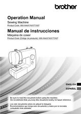 Brother SM1704 Sewing Machine Owners Instruction Manual Reprint