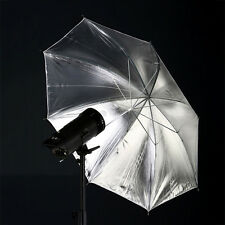 "43"" 110cm Photo Soft Umbrella 2in1Studio Camera Flash Lighting Reflector New"