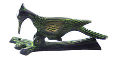 Green Woodpecker Bird Design Vintage Antique Style Handmade Brass Door Knocker