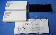 Sperian 2 Each Prescription RX Insert Carrier Uvex XC Military Eyewear S3350