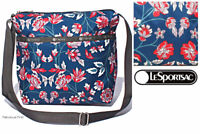 LeSportsac Blissful Vision Small Cleo Crossbody Bag Free Ship NWT Rifle style